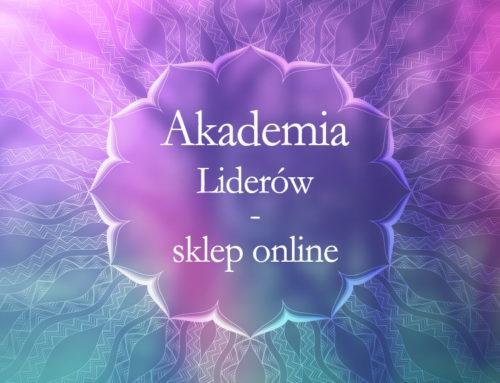 Zapraszamy do sklepu online Akademii Liderów!